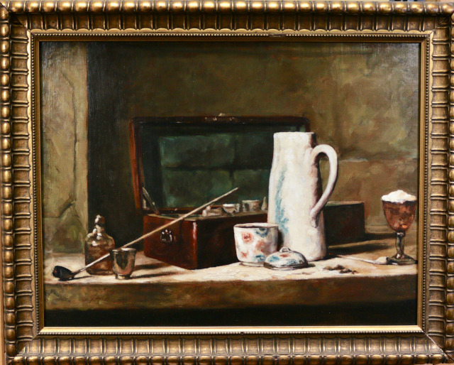 Painting: Chardin Copy