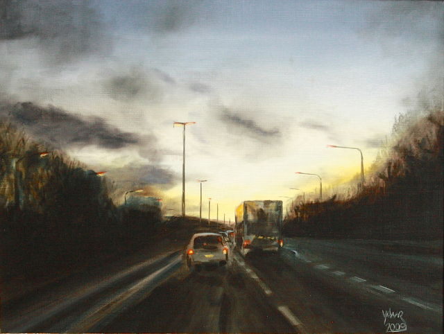 Painting: Drive Home