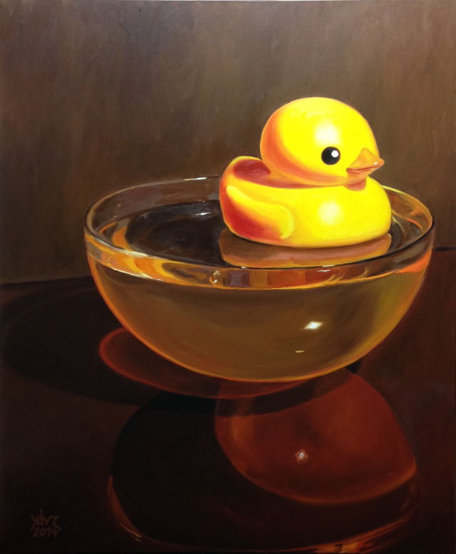 Painting: Duck