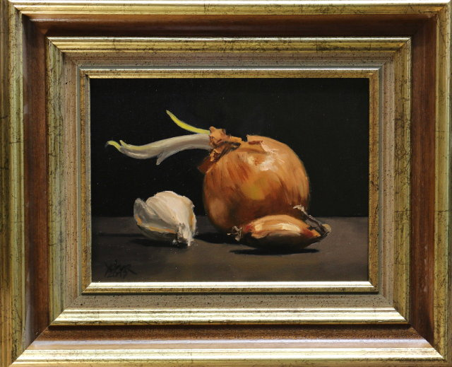 Painting: Onions