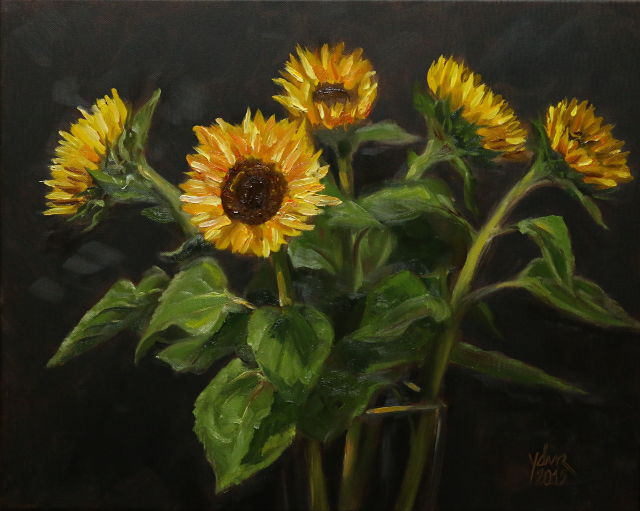 Painting: Sunflowers